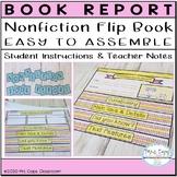 Nonfiction Book Report Flipbook 3rd & 4th Grade