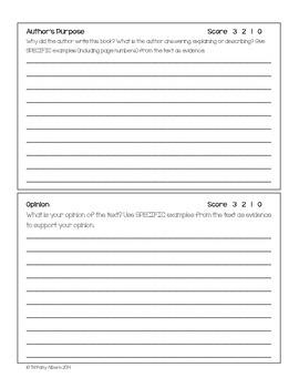 Nonfiction Book Report Form