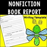 Nonfiction Book Report Template