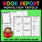 Nonfiction Book Report Trifold or Brochure