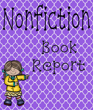 Nonfiction Book Report W.1.1 Differentiated