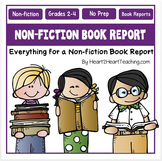 Non-Fiction Book Report Project Printable Pack