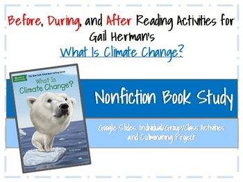 Nonfiction Book Study: What Is Climate Change?