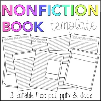 Nonfiction Book Template (Editable)