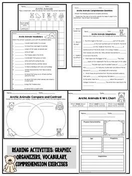 Nonfiction Booklets and Reading Activities Bundle