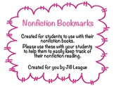 Nonfiction Bookmarks - Features and Structures