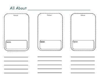 Nonfiction Brochure: Focus on Text Features/Main Idea & Details