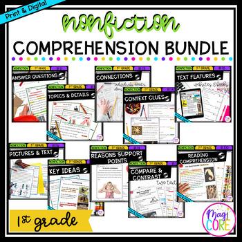 Nonfiction Bundle- 1st Grade Common Core Standards
