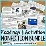 Nonfiction Bundle - Engaging Readings for 8th & 9th grade