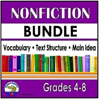 Nonfiction Bundle - Grades 4 - 8