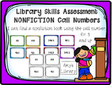 Nonfiction Call Number Library Skills Assessment