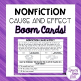 Nonfiction Cause & Effect BOOM CARDS™️
