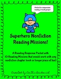 Nonfiction Chapter Book Reading Comprehension Missions Packet