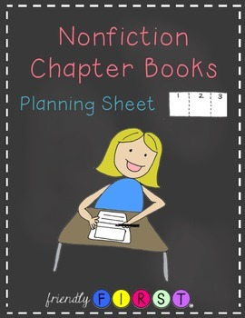Nonfiction Chapter Books Planning Sheet