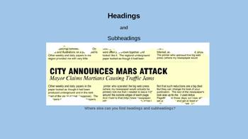 Nonfiction Characteristics Bundle (PowerPoint, Anchor Chart, Activity)
