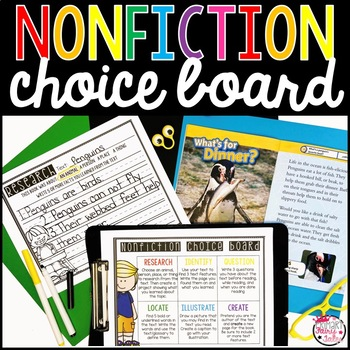 Nonfiction Choice Board
