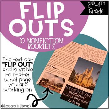 Nonfiction Close Reading {FLIP OUTS} Volume 2