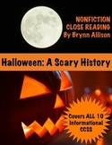 Nonfiction Close Reading - History of Halloween