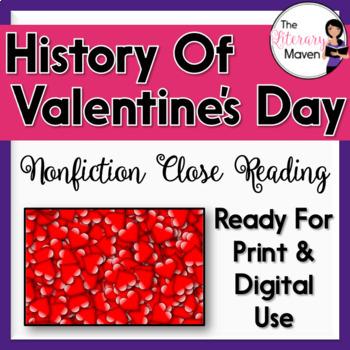 Nonfiction Close Reading - The Dark Origins of Valentine's Day