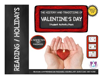 Valentine's Day Activities Nonfiction Reading Comprehension Passages