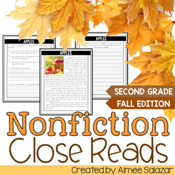 Nonfiction Close Reads - Fall