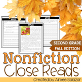 Fall Nonfiction Reading Passages