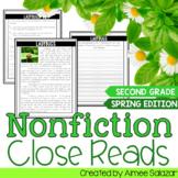 Spring Nonfiction Reading Passages