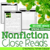Nonfiction Close Reads - Spring