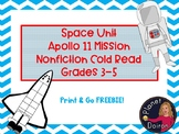 Nonfiction Cold read Apollo 11 moon mission