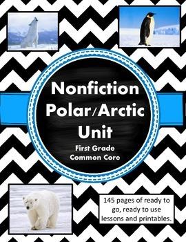 Nonfiction Common Core Arctic/Polar Unit