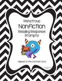 Nonfiction Common Core Text Dependent Reading Response Prompts