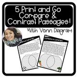 Nonfiction Compare and Contrast Passages