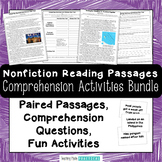 Nonfiction Comparing and Contrast Snowball Fights Bundle -