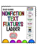 Nonfiction Text Features Ladder {Space-Saving}