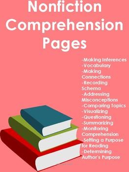 Nonfiction Comprehension Pages