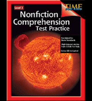 Nonfiction Comprehension Test Practice: Level 3