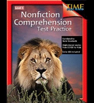 Nonfiction Comprehension Test Practice: Level 5
