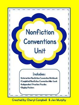 Nonfiction Conventions Unit