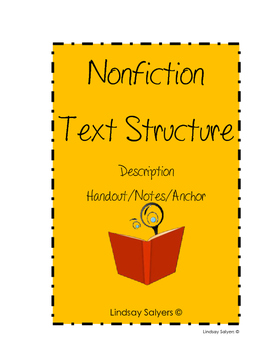 Nonfiction Description Notes/Anchor