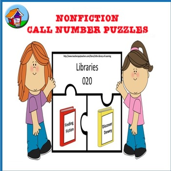 Nonfiction Dewey Call Number Puzzles