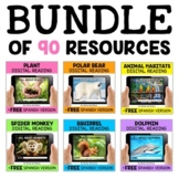 Nonfiction Digital Reading Comprehension Mega Bundle