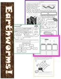 Nonfiction Earthworm Articles Differentiated with Common Core Assessment