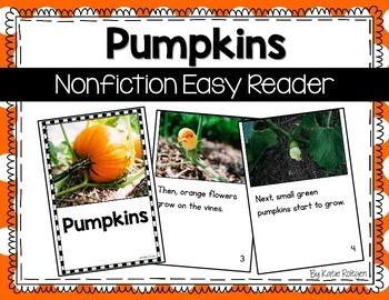 Nonfiction Easy Reader: Pumpkins