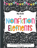 Nonfiction TEXT FEATURES Notebook