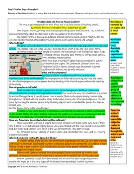 Nonfiction: Elements of Nonfiction Teaching Plan