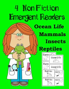 Nonfiction Emergent Reader Bundle