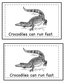 Nonfiction Emergent Reader- Reptiles