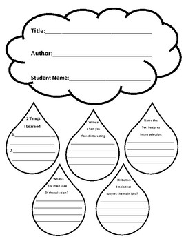 Nonfiction/Expository Comprehension Questions