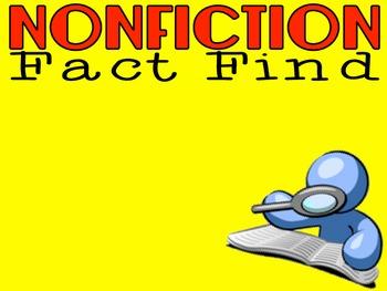 Nonfiction Fact Find