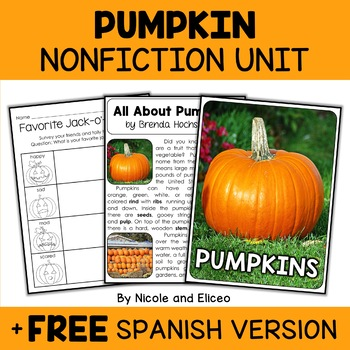 Nonfiction Units - Fall Theme Bundle